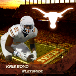 Kris Boyd. (Justin Wells photo, Shane Ware edit)