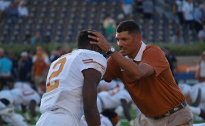 Kris Boyd and Jay Norvell. (Justin Wells/IT)