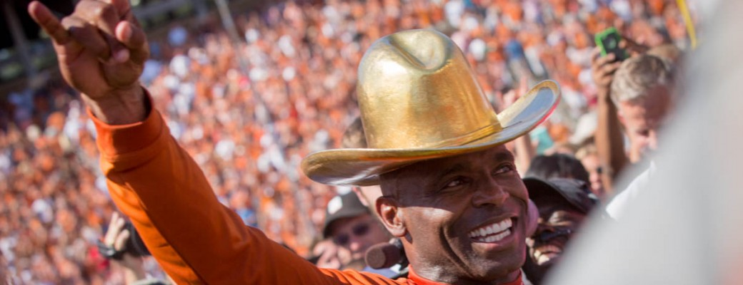 Charlie Strong. (Will Gallagher/IT)
