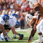 Texas vs Kansas. (Will Gallagher/IT)