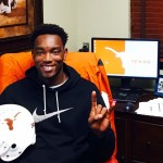 Taquon Graham on his visit to Austin. (Courtesy of Graham)