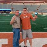Will Farrar during his unofficial visit to Austin. (Will Farrar)