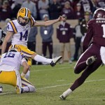 Trent Domingue. (LSU Sports)