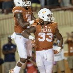 The Foreman brothers celebrate at DKR. (Will Gallagher/IT)