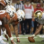 Notre Dame at Texas. (Will Gallagher/IT)