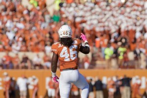 Malik Jefferson. (Will Gallagher/IT)