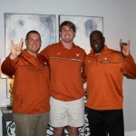 Walker Little with UT staff. (Courtesy of Little)