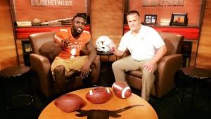 Gary Johnson and Todd Orlando at LHN. (Courtesy of Johnson
