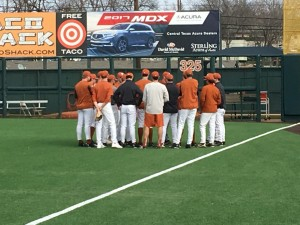 Longhorns baseball (Joe Cook/IT)