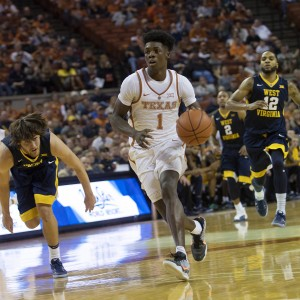 Andrew Jones drives against WVU (Will Gallagher/IT)