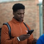 BJ Foster at UT's Junior Day. (Will Gallagher/IT)