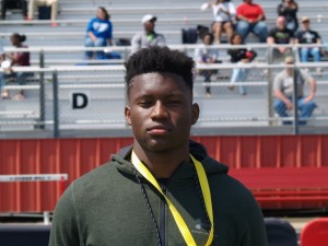 Noah Cain at the UA camp. (Justin Wells/IT)