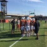 Texas CBs (Joe Cook/IT)