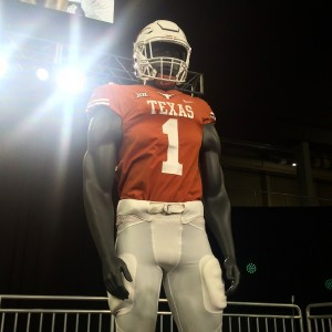 Texas at Media Days (Justin Wells/IT)