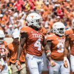 DeShon Elliott and the Texas Defense (Will Gallagher/IT)