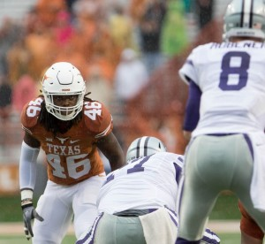 Malik Jefferson. (Gallagher/IT)