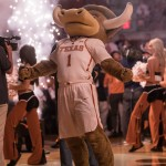 Hookem gets fired up (Will Gallagher/IT)
