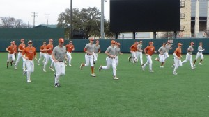Texas baseball in the preseason (Joe Cook/IT)