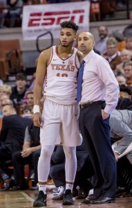 Shaka Smart and Eric Davis (Will Gallagher/IT)