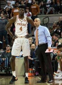 Mohamed Bamba and Shaka Smart (Will Gallagher/IT)