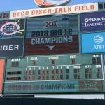 Texas Baseball, 2018 Big 12 Champions (Joe Cook/IT)