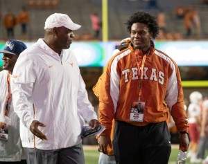Myron Warren during his visit to UT. (Will Gallagher/IT)