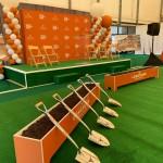 South End Zone groundbreaking ceremony (Joe Cook/IT)