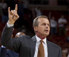 Rick Barnes. (Will Gallagher/IT)
