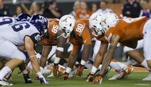 Texas vs TCU. (Will Gallagher/IT)