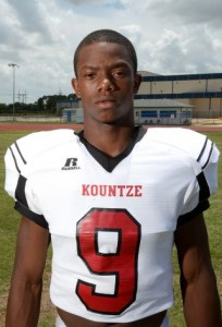 Grayland Arnold. (courtesy of Kountze athletics)