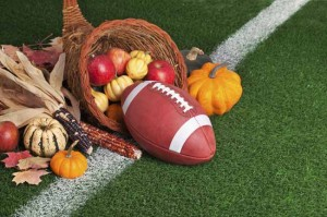 Thanksgiving football. (Addison Magazine)
