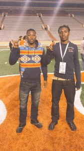 Kris Boyd and Holton Hill. (Courtesy of Boyd family)