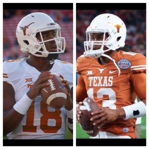 Tyrone Swoopes and Jerrod Heard. (Justin Wells/IT)