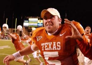 Chance Mock. (Texassports.com)