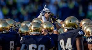 Notre Dame Football. (Notre Dame athletics)