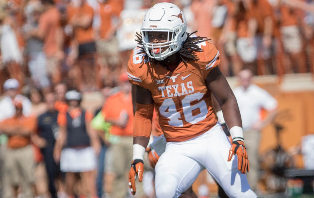 Texas defensive leaders ready for game action - Inside Texas ...