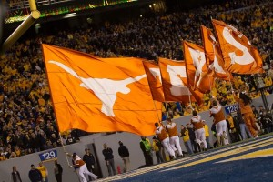 The Texas flag in Morgantown. (Will Gallagher/IT)