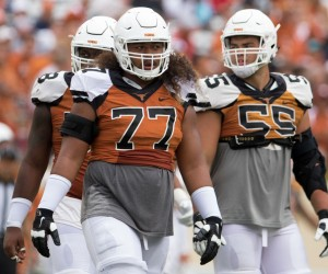 Patrick Vahe, Connor Williams, and Brandon Hodges. (Will Gallagher/IT)