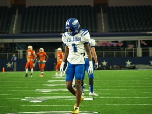 Josh Moore at UIL State Championship. (Justin Wells/IT