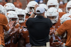Tom Herman. (Will Gallagher/IT)