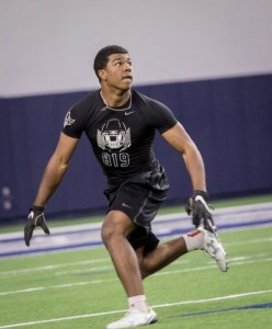 Jalen Catalon at The Opening Regionals. (Will Gallagher/IT)