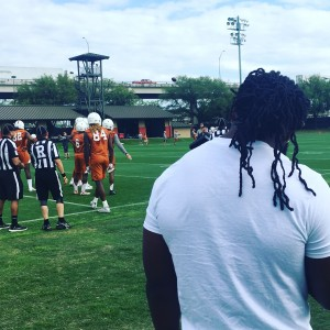 Malik Jefferson (Joe Cook/IT)