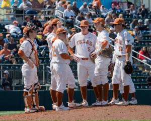 David Pierce, Texas baseball (Will Gallagher/IT)