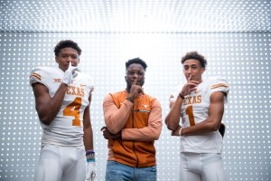 Powell and Lewis during their OV in Austin. (courtesy of Powell)