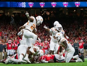 BJ Foster and the Texas defense