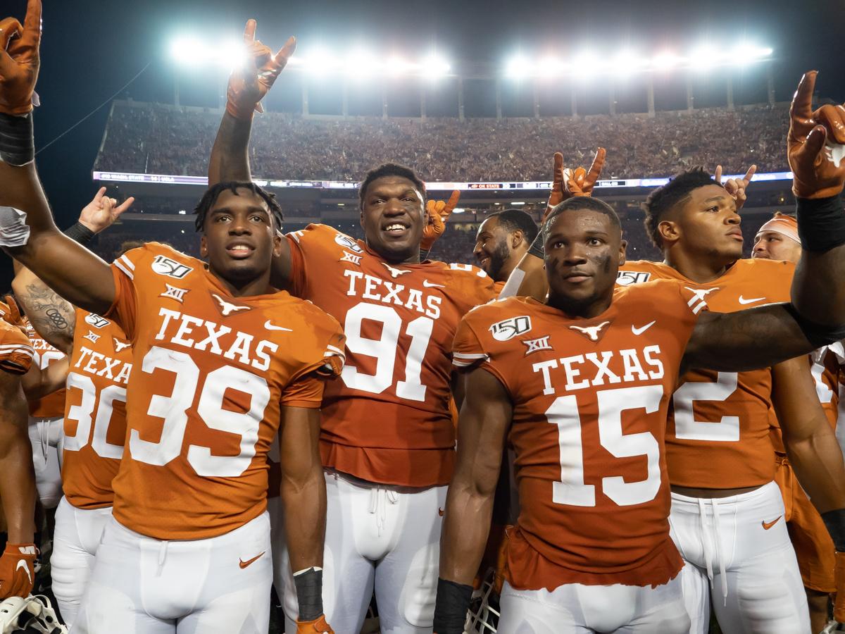 100% authentic a2784 f6ad6 Texas Longhorns Football | Bleacher Report | Latest News ...