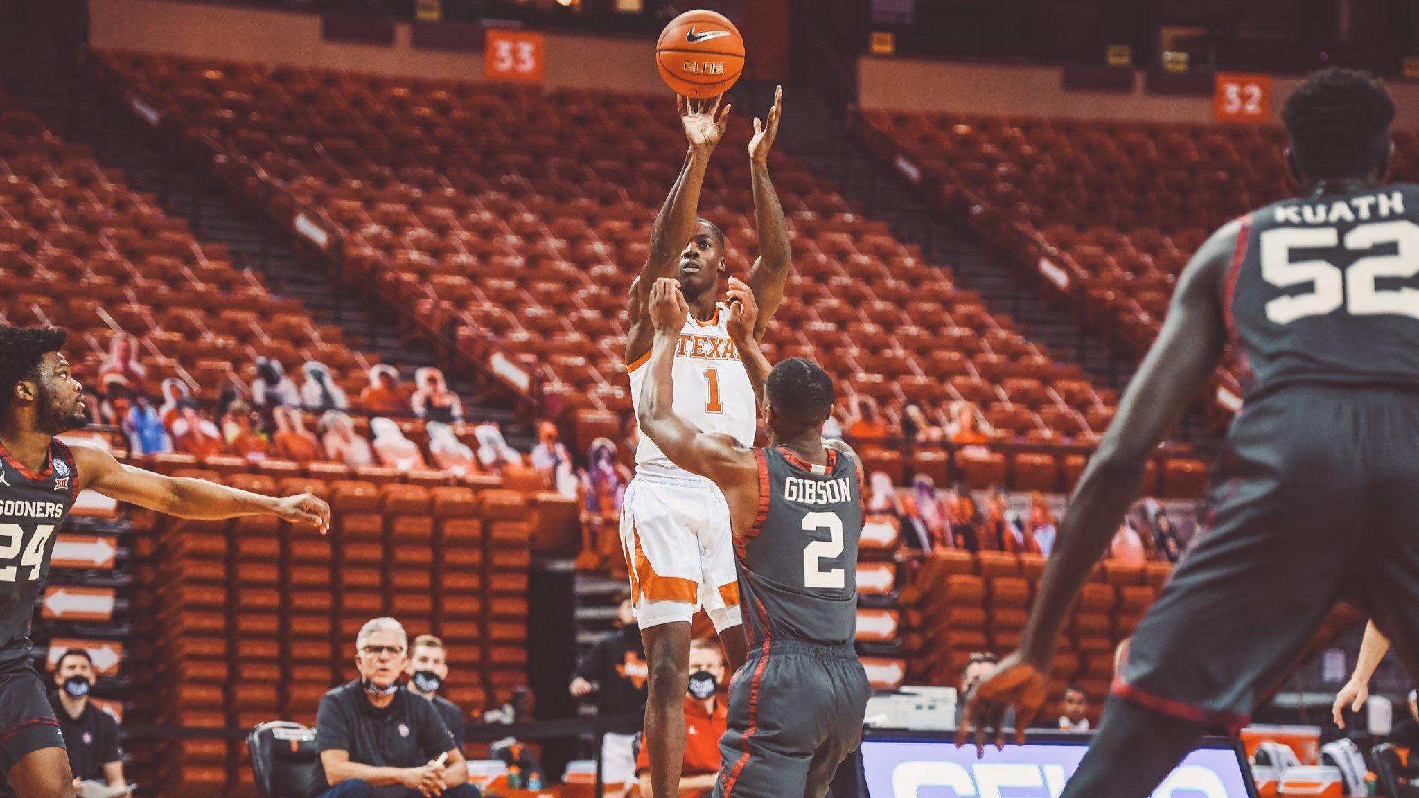 Andrew Jones (courtesy of Texas Basketball)